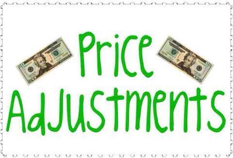 Price Adjustments