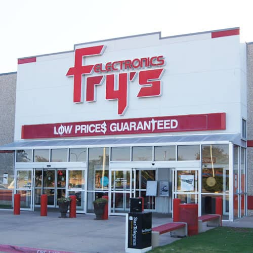 fry's store front