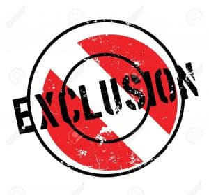 Excluded Products