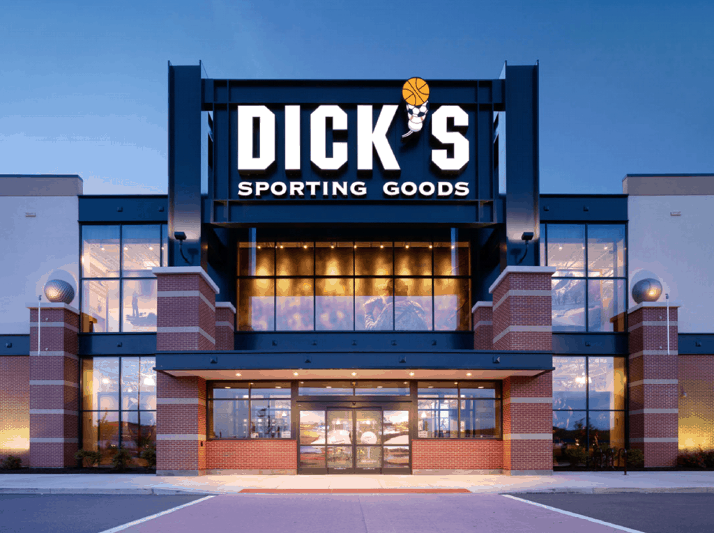 Dicks Sporting Store Front